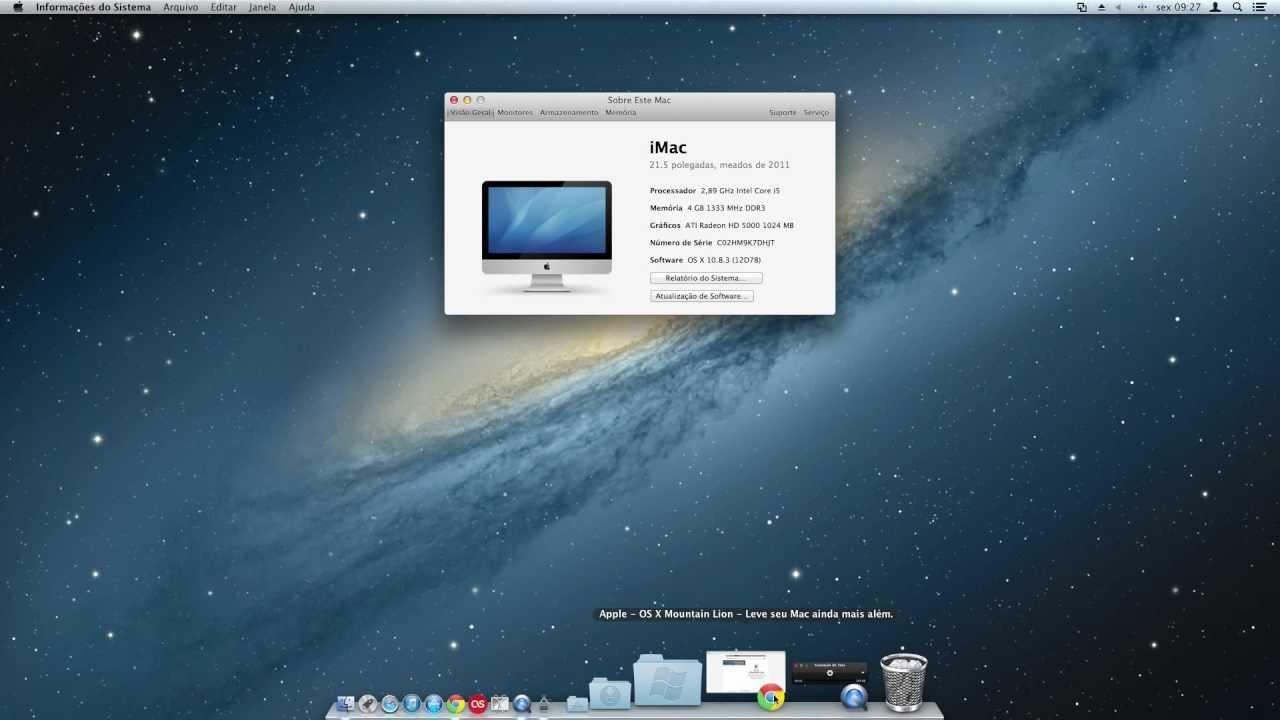 Mac OS X 10.8.3