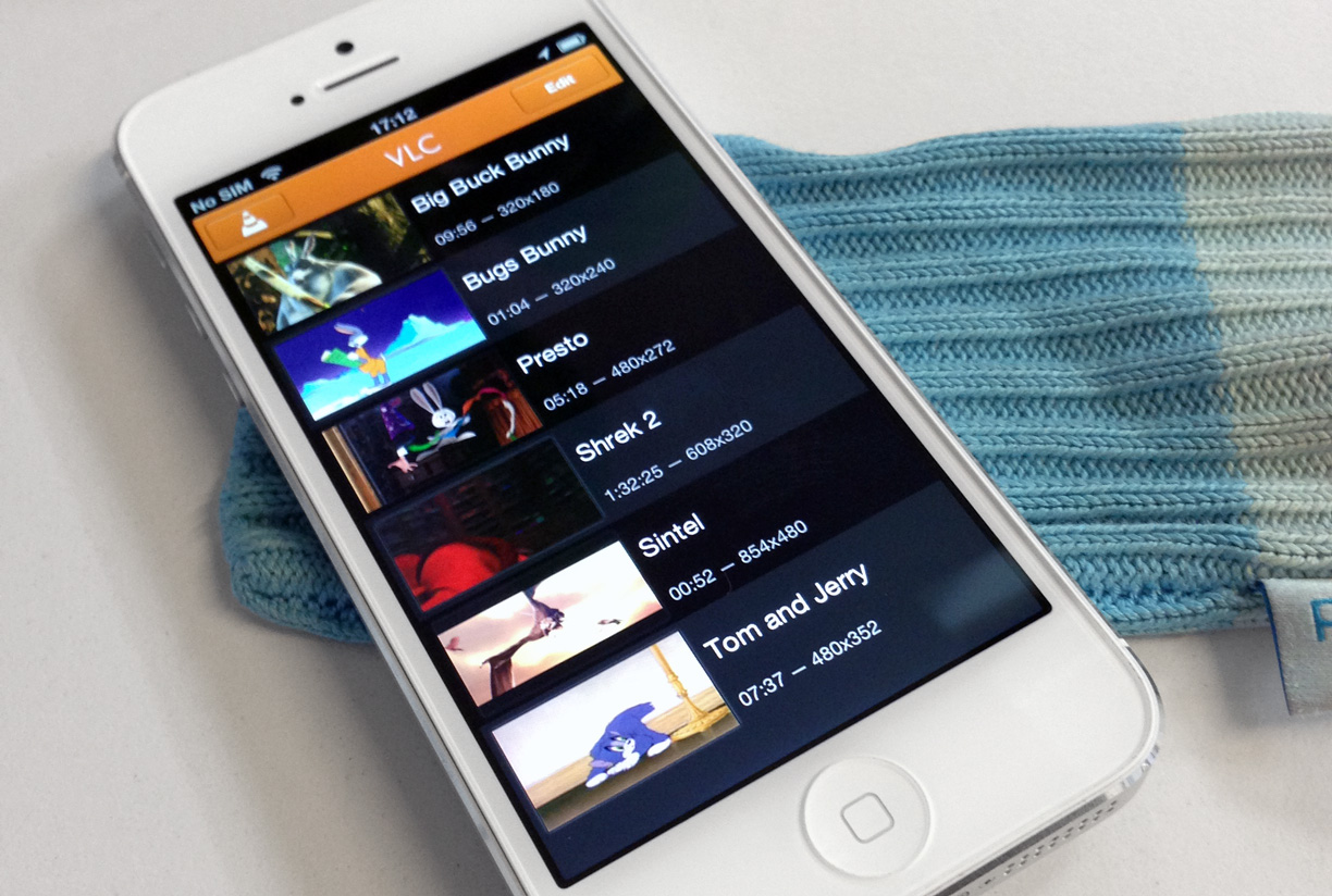VLC Media Player dégagé de l'App Store