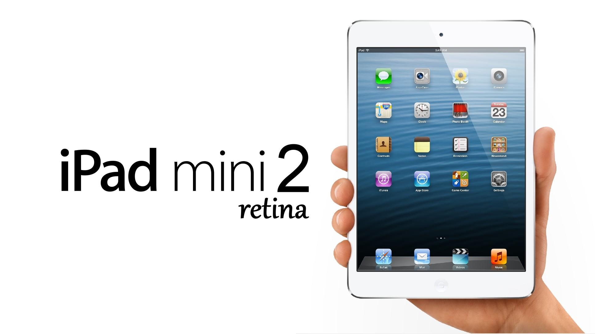 Sortie de l'iPad 5 et iPad Mini 2 au mois d'avril