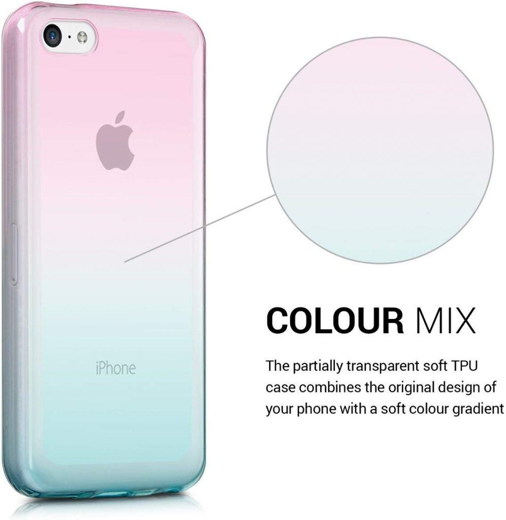 Coque iPhone 5C kwmobile en silicone
