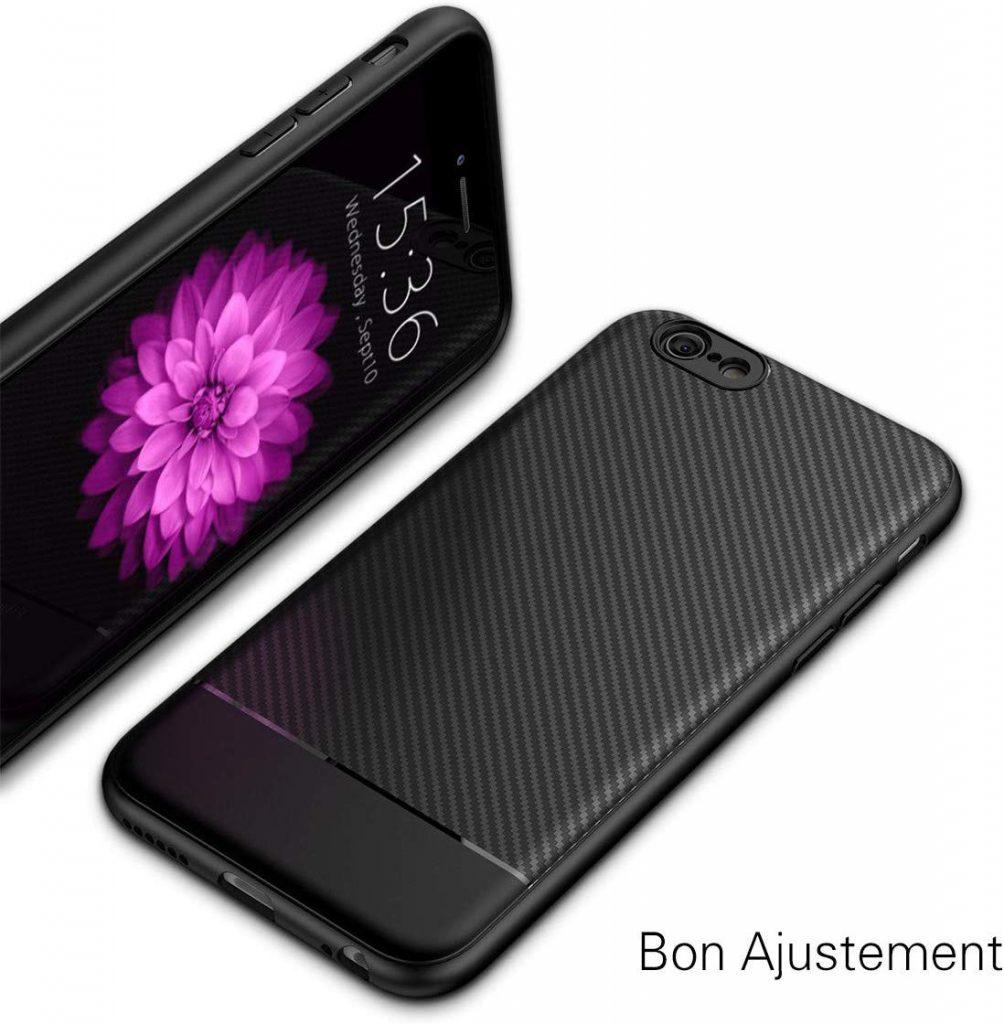 Coque iPhone 6s plus J Jecent en silicone