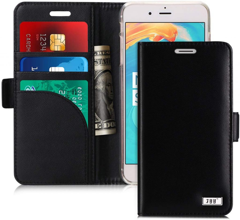 Coque iPhone 7 FYY portefeuille