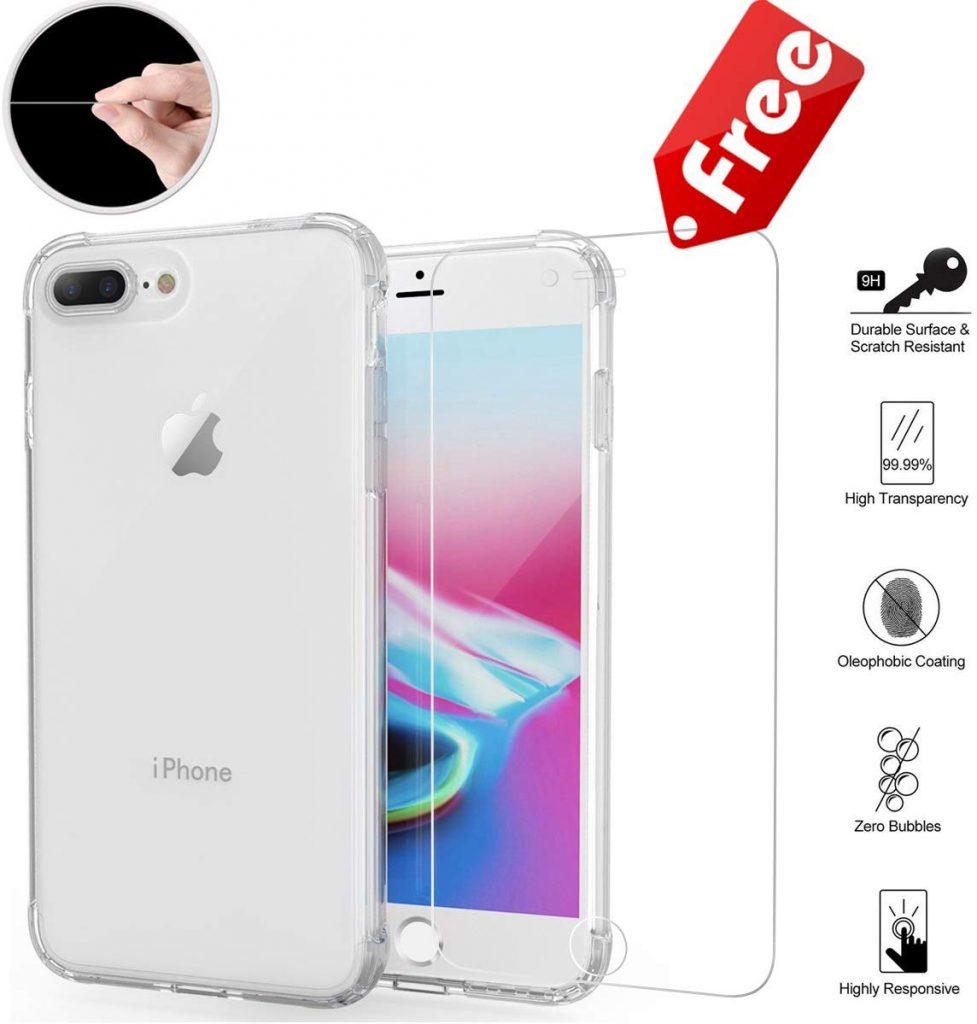 Coque iPhone 7 Plus HZRICH en silicone